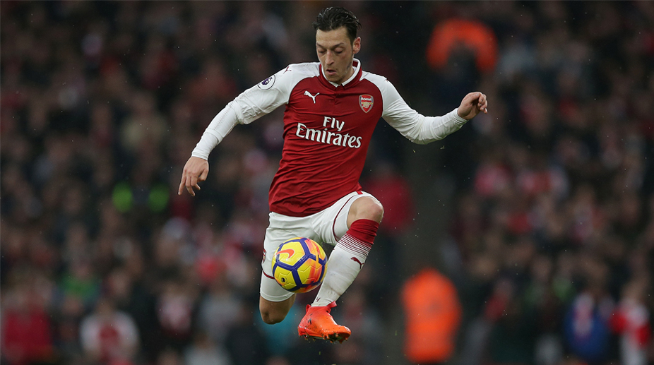 Mesut Ozil, Arsenal F.C., Premier League, Arsenal vs Everton