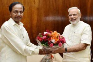 PM Modi prays for Telangana CM KC Rao's 'long life' on his birthday