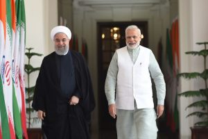 Iranian President Rouhani, PM Modi hold bilateral talks