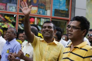 India not occupiers but liberators, says Nasheed
