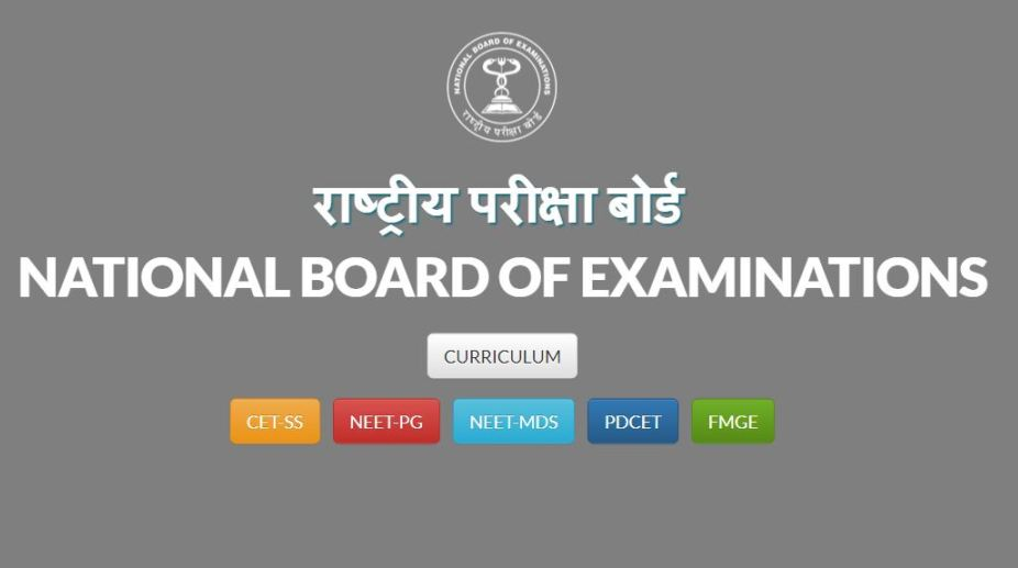 NBE NEET-PG 2018 Rank Card