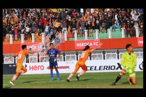 I-League: Aryn Williams seals vital 1-0 win for NEROCA FC over Churchill Brothers