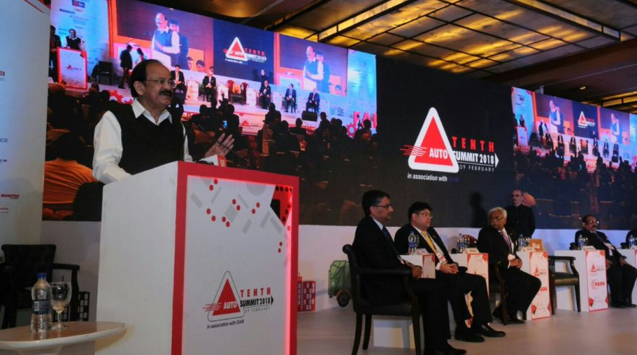 Auto industry must gear up to meet future needs: Naidu