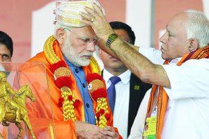 Time's up for Congress govt in Karnataka: PM Modi