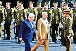Mr Modi in Palestine