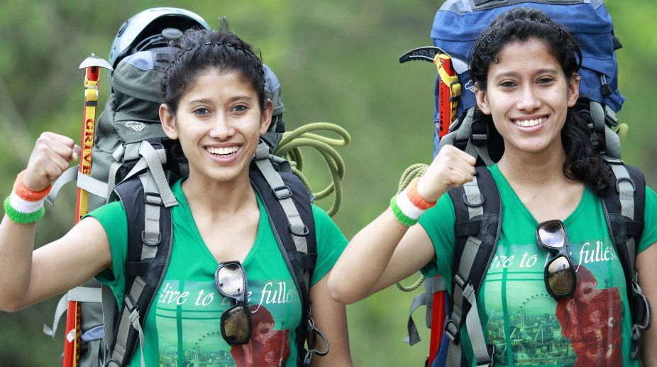Heights give us highs of life, say 'Everest twins' Nungshi and Tashi