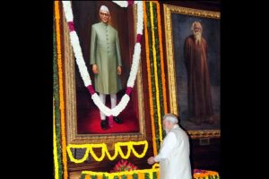 PM Modi pays tribute to Morarji Desai on his 122nd birth anniversary