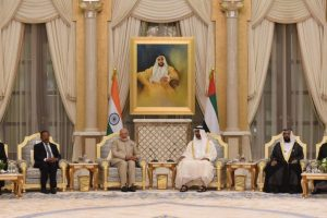 PM Modi meets UAE PM, discusses bilateral ties