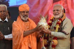 PM Modi lauds work of saints at Bahubali Mahotsav in Karnataka