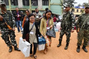 Re-polling in 13 Nagaland booths tomorrow