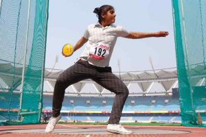 Anu, Pooja complete golden double, Nisar fastest at Khelo India Games
