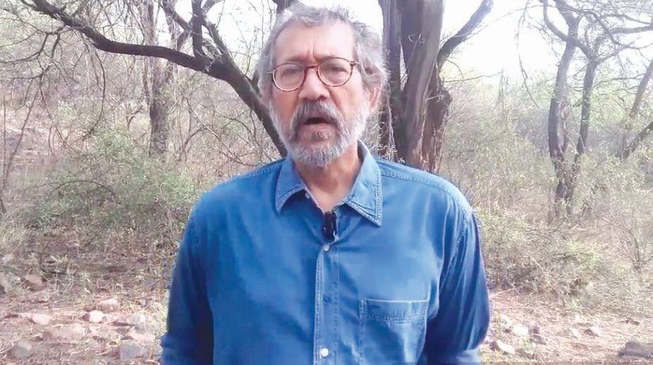 Filmmaker and chronicler of trees in Delhi Pradip Krishen