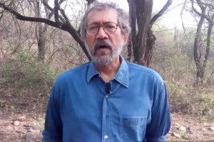 Pradip Krishen speaks at Delhi College lecture