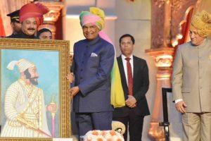 President Kovind hails Shivaji's inspiring leadership