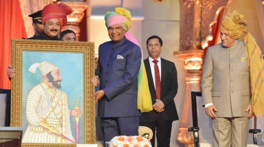 President Kovind Shivaji