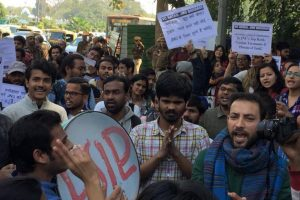 JNU students take out rally to demand VC's removal