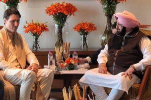 Punjab CM Amarinder meets Trudeau, Sajjan; flags 'Kahlistan' issue