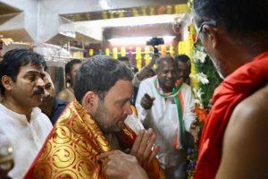 Rahul continues temple run in poll-bound Karnataka
