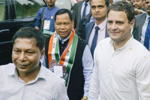 From Meghalaya, Rahul launches 'Church', 'Modi' attack on BJP