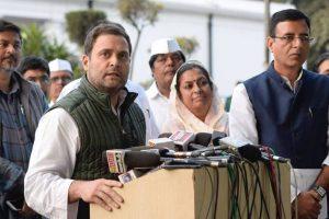 PM Modi should speak on Nirav Modi, PNB Scam: Rahul Gandhi