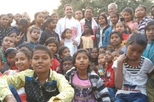 Rahul Gandhi visits SOS children's village in Guwahati