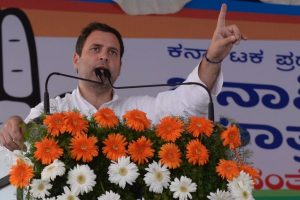 Rahul Gandhi accuses Modi of misusing PM's post to collect data