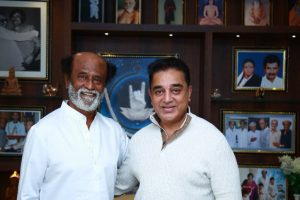 Kamal Haasan meets Rajinikanth for a 'courtesy call'
