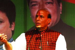 Bangladesh's support helped curb terror in northeast: Rajnath Singh