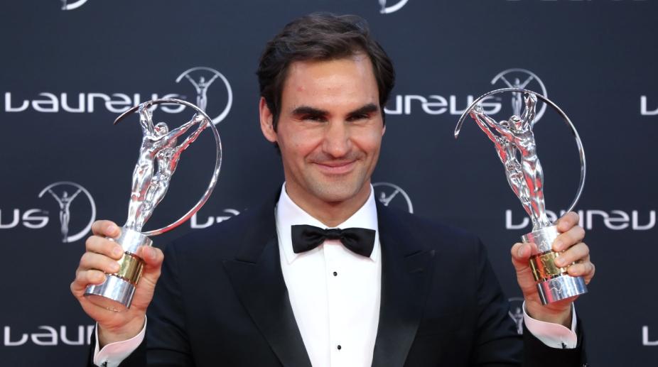 Roger Federer 2018 Laureus World Sports Awards