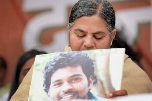Rohit Vemula's mother accepts Rs 8 L compensation from Hyderabad University
