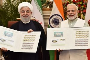 India, Iran condemn countries aiding terror; sign nine accords