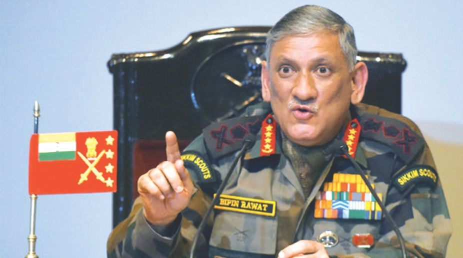 Army Chief General Bipin Rawat, Jammu and Kashmir