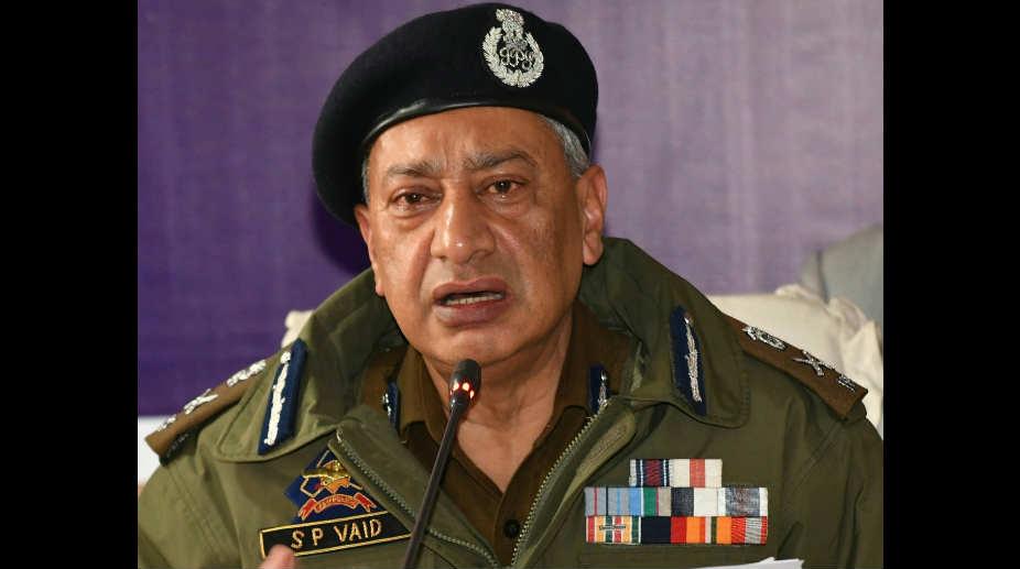 SP Vaid, DGP, Jammu and Kashmir Police