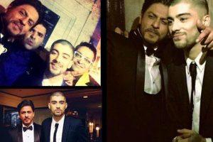 Shah Rukh Khan's delightful message for Zayn Malik