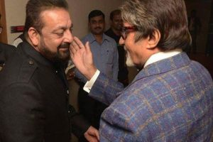 Sanjay Dutt gets nostalgic, shares throwback pictures with Amitabh Bachchan