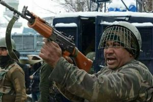 Militants fire rifle-grenade at CRPF camp in Pulwama, none injured