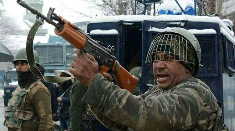 CRPF camp, Pulwama, militants attack
