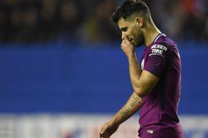 Manchester City striker Sergio Aguero in line for lengthy ban?