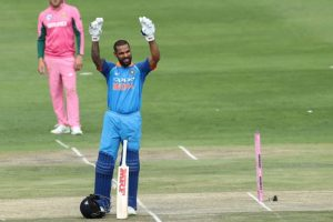 India sets a target of 290 for SA in 4th ODI