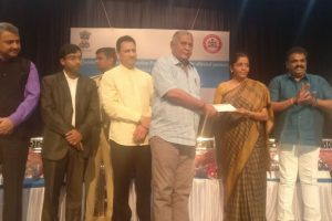 Operation Seabird: Sitharaman distributes cheques to 30 displaced families
