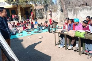 School classes under open sky as Pakistan shells LoC villages