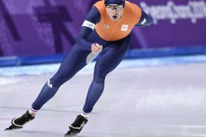 Dutch speed skater Kramer wins 3rd straight Olympic gold