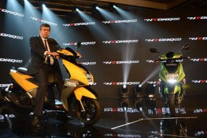 TVS NTorq 125cc scooter with SmartXonnect Bluetooth tech launched in India for Rs. 58,750