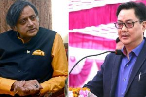 Tharoor, Rijiju get into Twitter duel over 'Why I Am A Hindu'