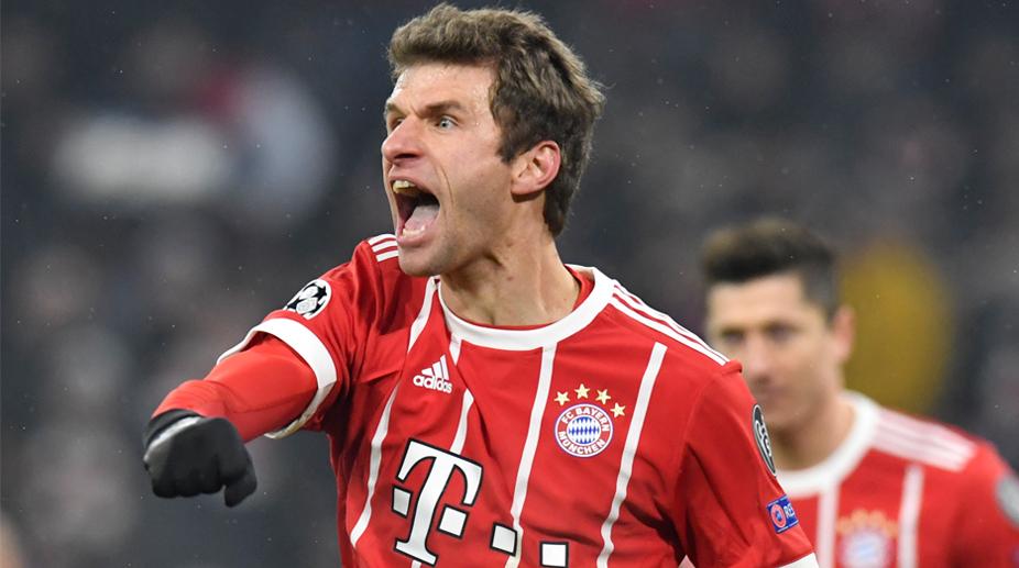 Thomas Muller, F.C. Bayern Munich, UEFA Champions League