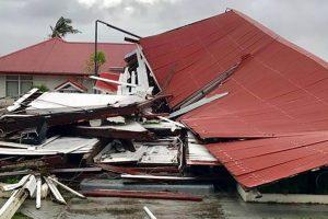 Cyclone Gita flattens Tonga's parliament building, moves towards Fiji