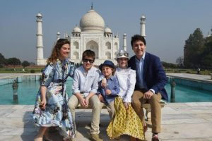 In pics: Trudeaus keep date with Taj Mahal