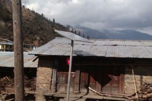 Solar power lights up remote U'khand village