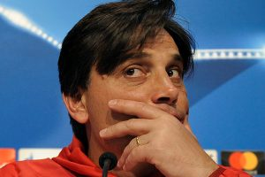 UCL: Vincenzo Montella looking forward to clash with Jose Mourinho