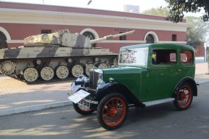 Glimpses of The Statesman Vintage and Classic Car Rally pre-judging event